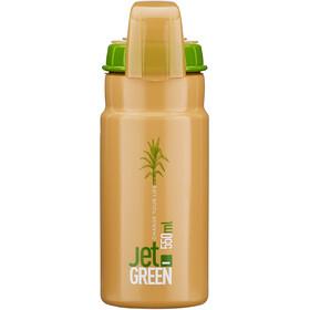 Elite Jet Green Plus Borraccia 550ml, marrone